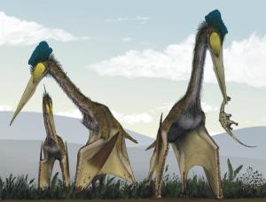 Quetzalcoatlus Feeding