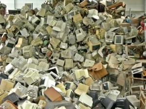 Tech Obsolescence Clogs Landfills