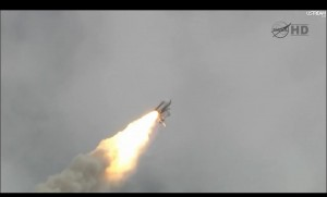 Space Shuttle Atlantis Breaking Sound Barrier 2011